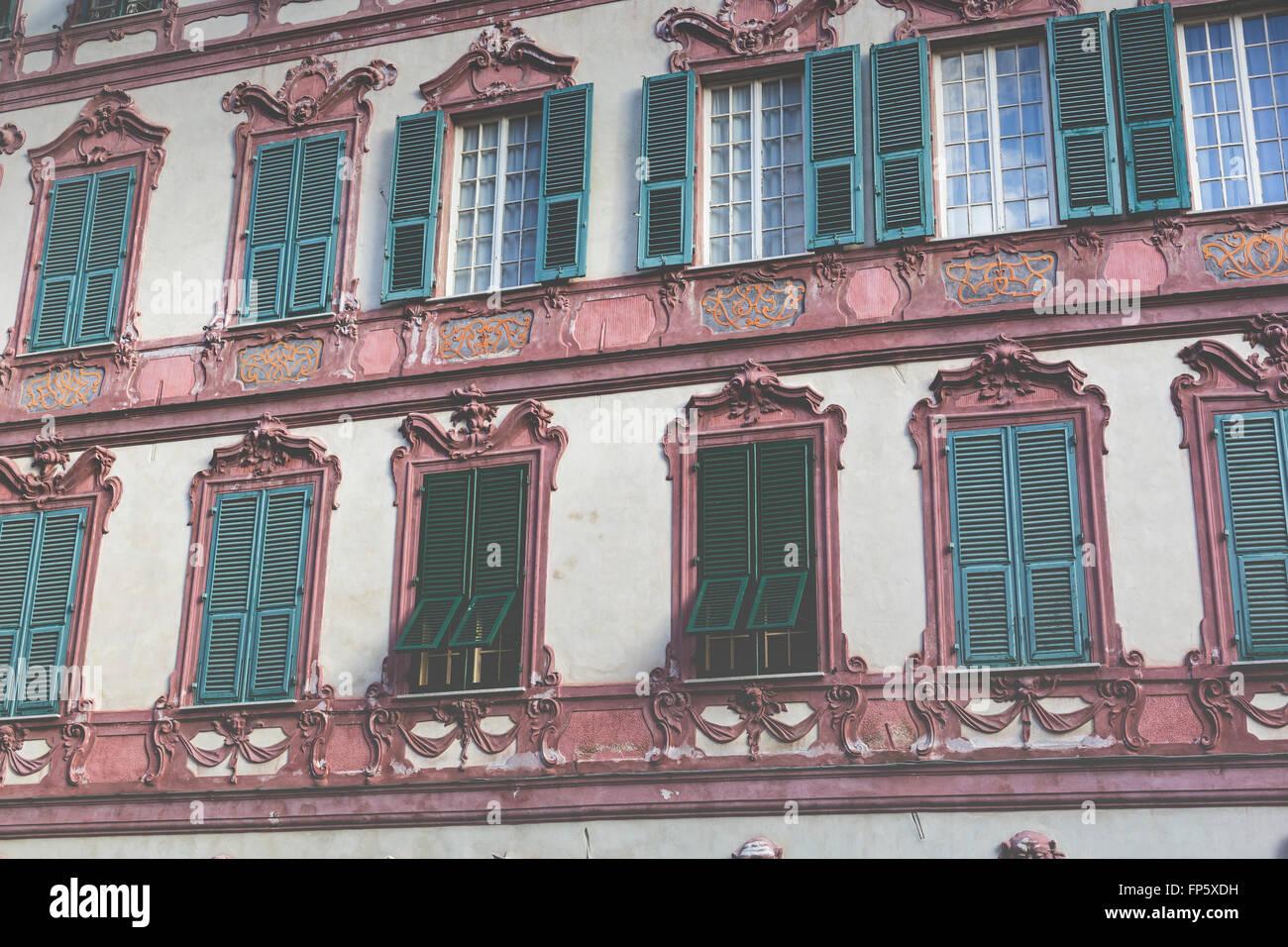 schöne häuserfassaden typically mediterranean stockfotos typically