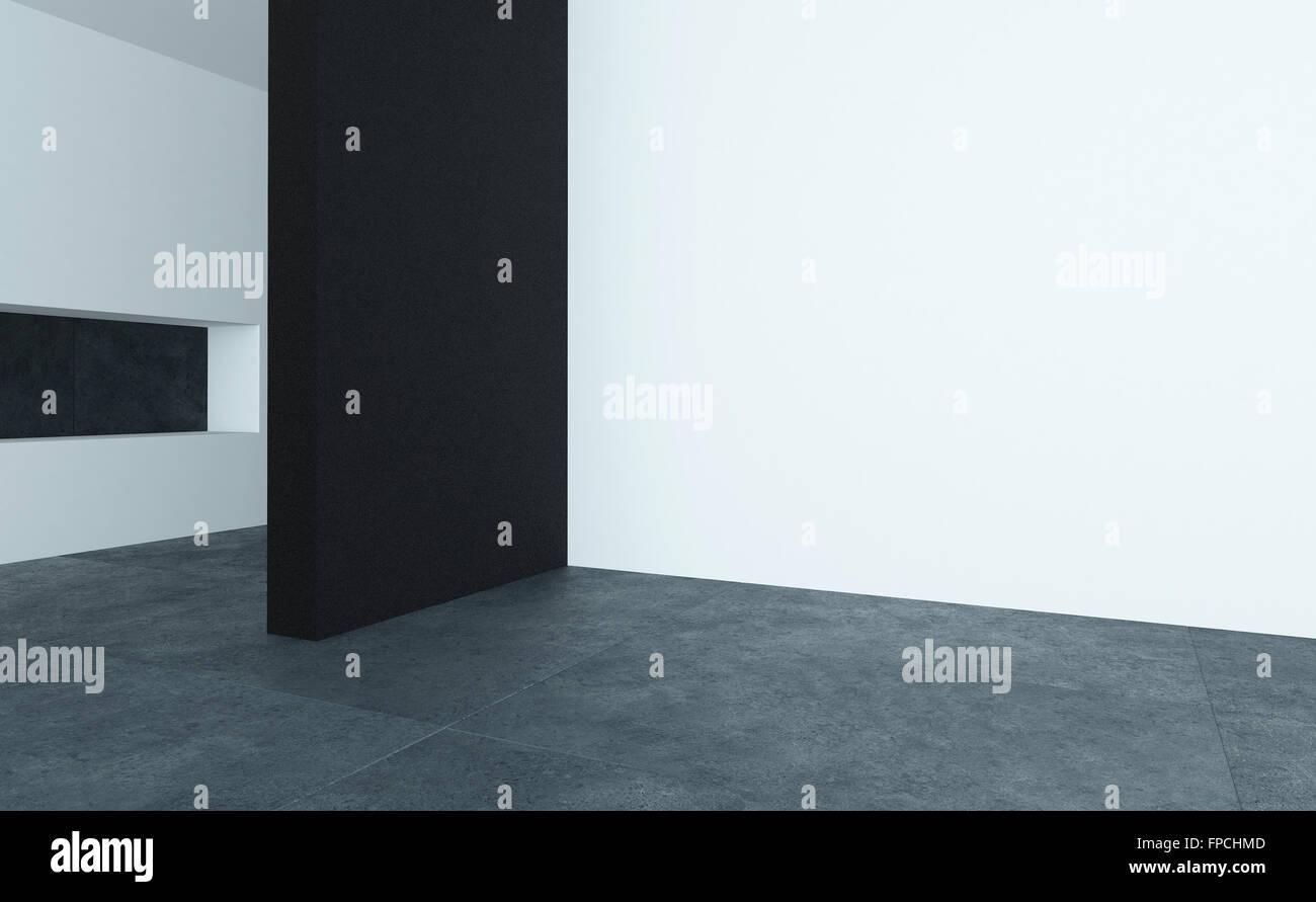 Bare room interior decorating stockfotos bare room - Feuchtigkeit in den wanden ...