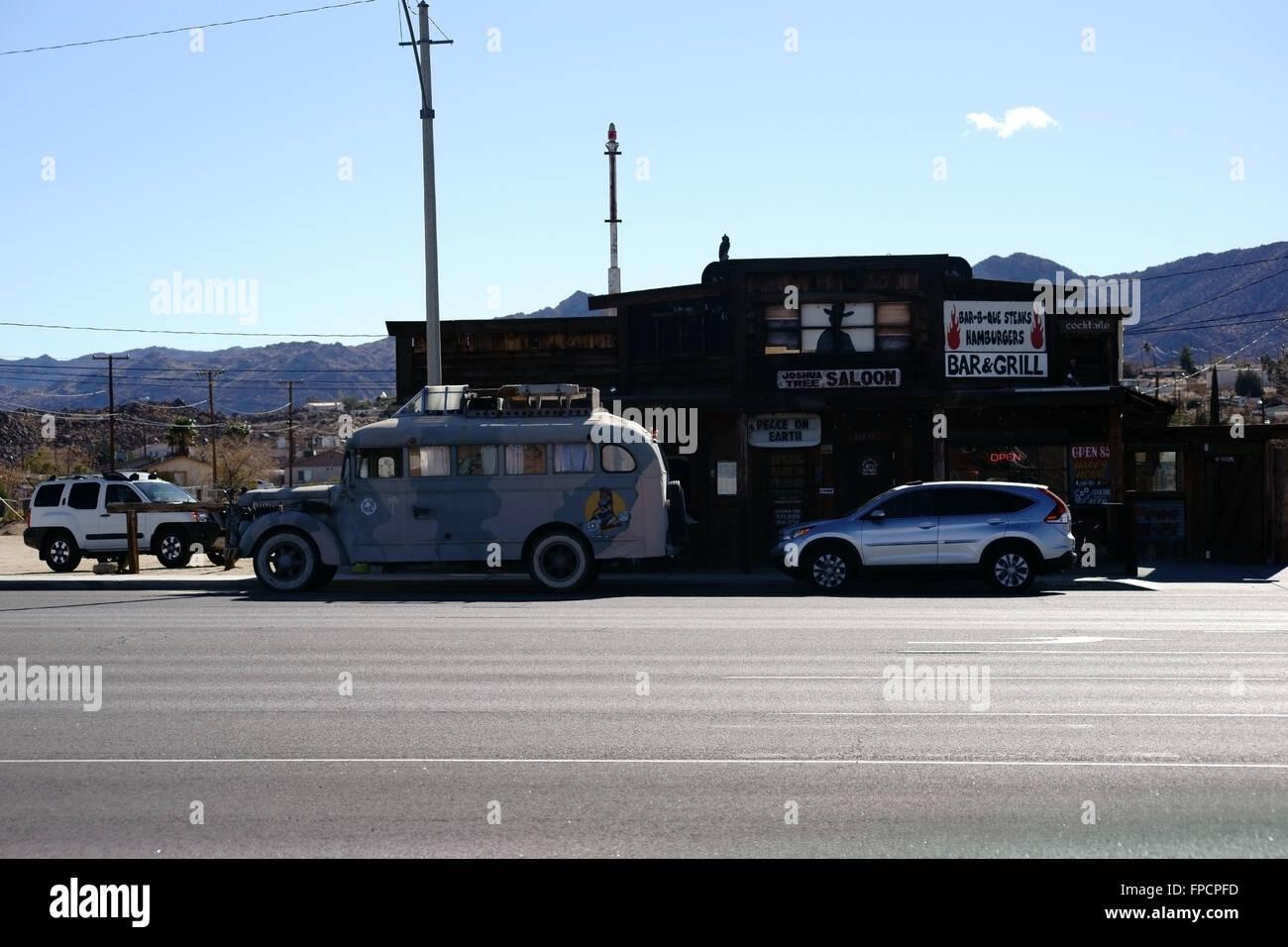 Hippie-Wohnwagen Stockbild