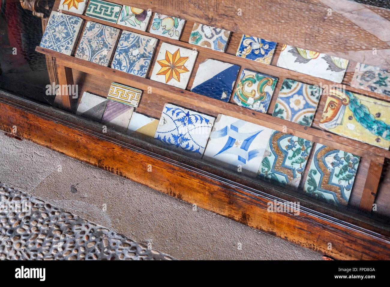 Keramische Fliesen Shop Antiquitäten Palma De Mallorca Balearen - Mallorca fliesen shop