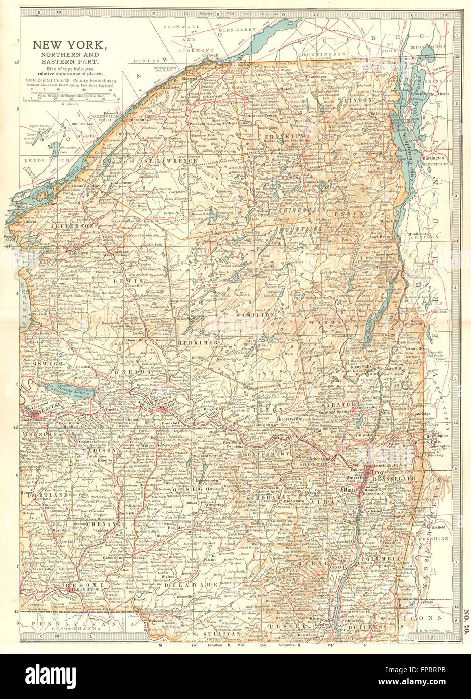 Revolutionary War Map Stockfotos & Revolutionary War Map ...