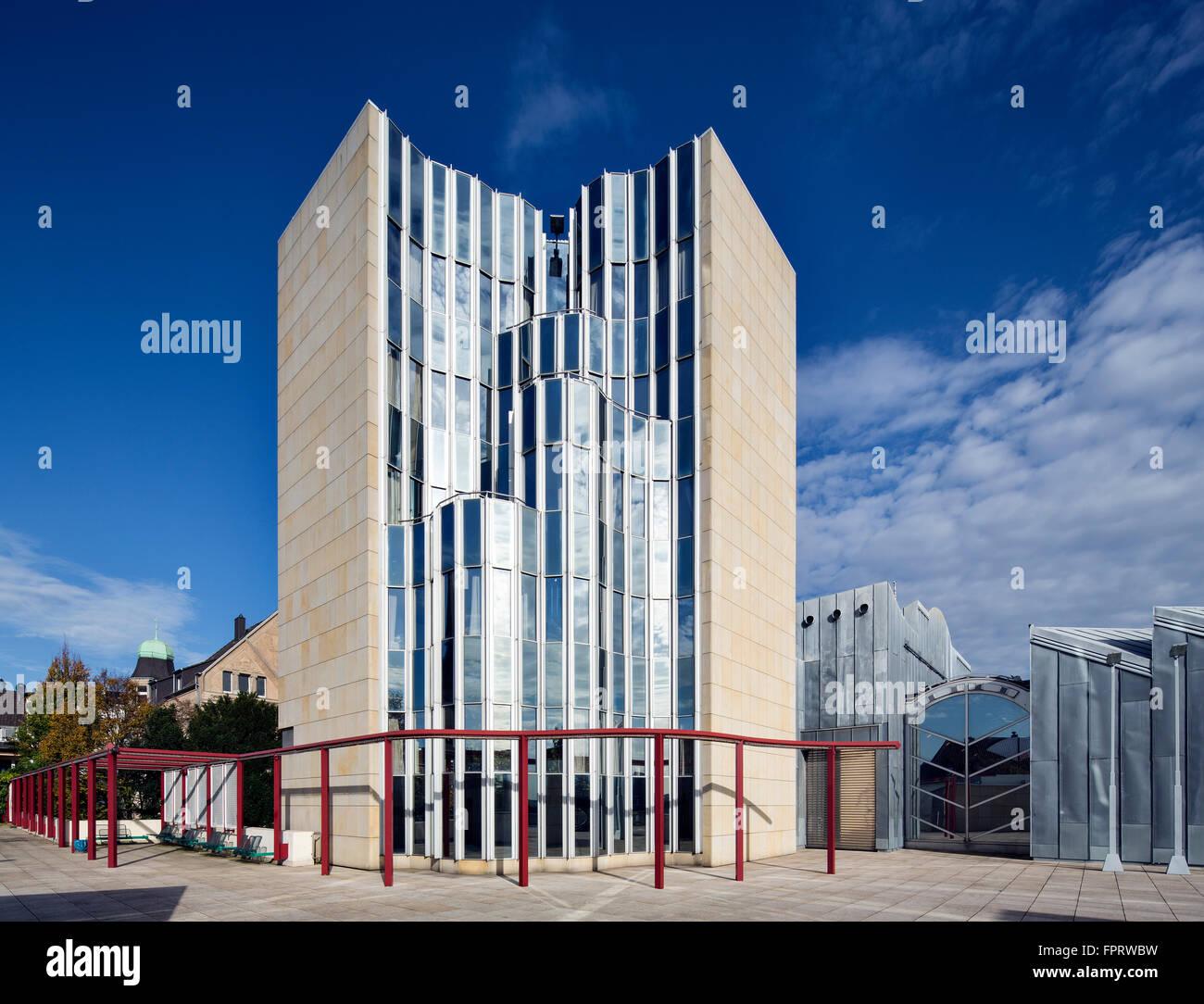 Architekt Mönchengladbach museum abteiberg architekt hans hollein postmoderne