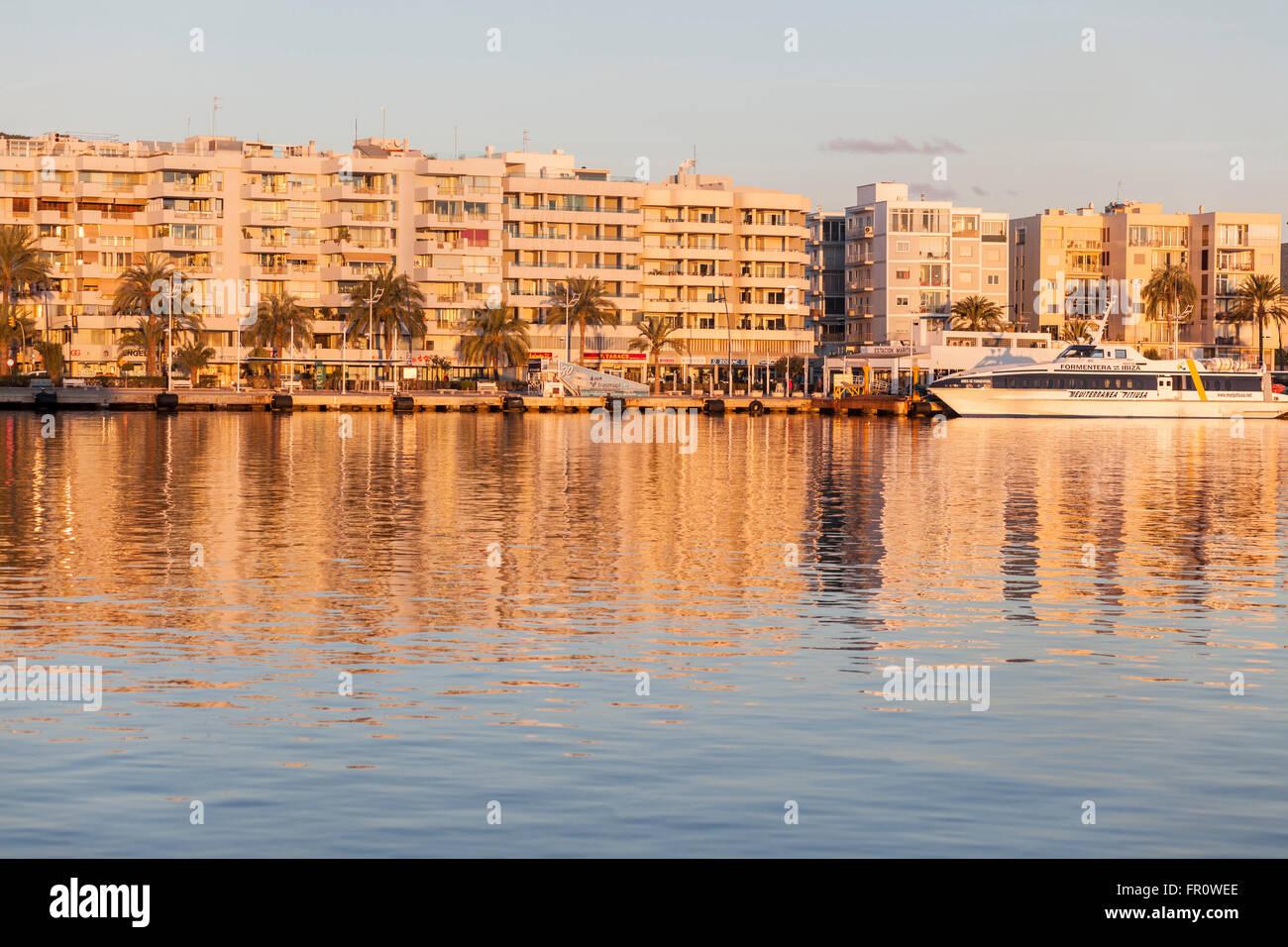 Ibiza-Ibiza, Balearen, Spanien. Stockbild