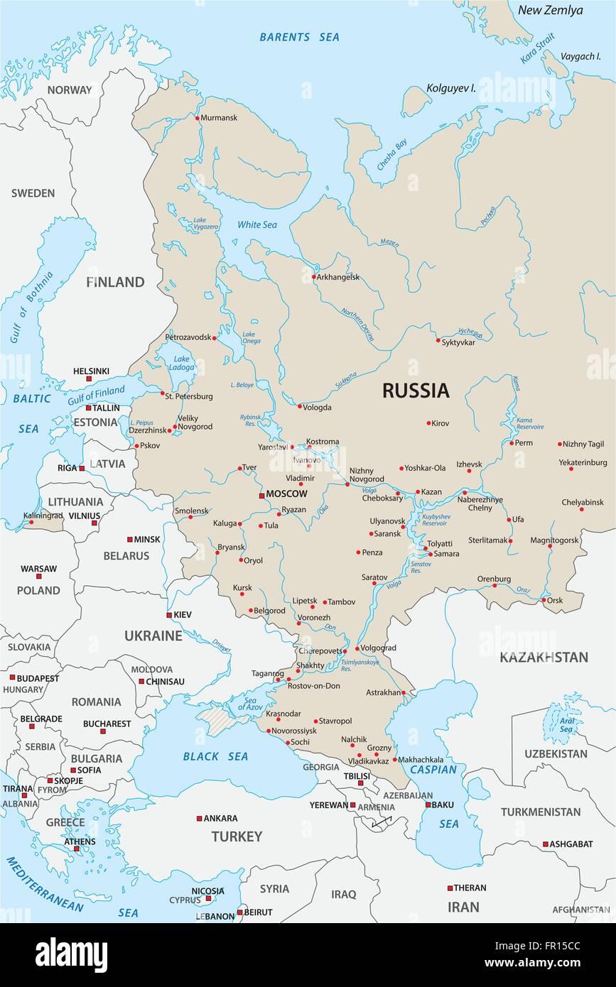 Karte Russland.Russland Karte Stockfotos Russland Karte Bilder Alamy