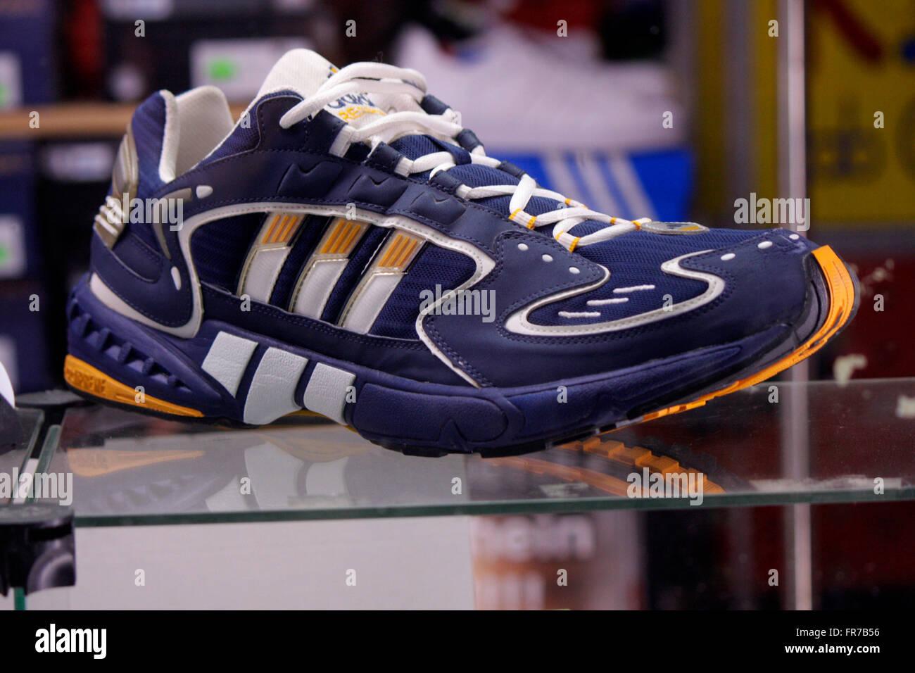 "Markenname: ""Adidas"", Berlin. Stockfoto"