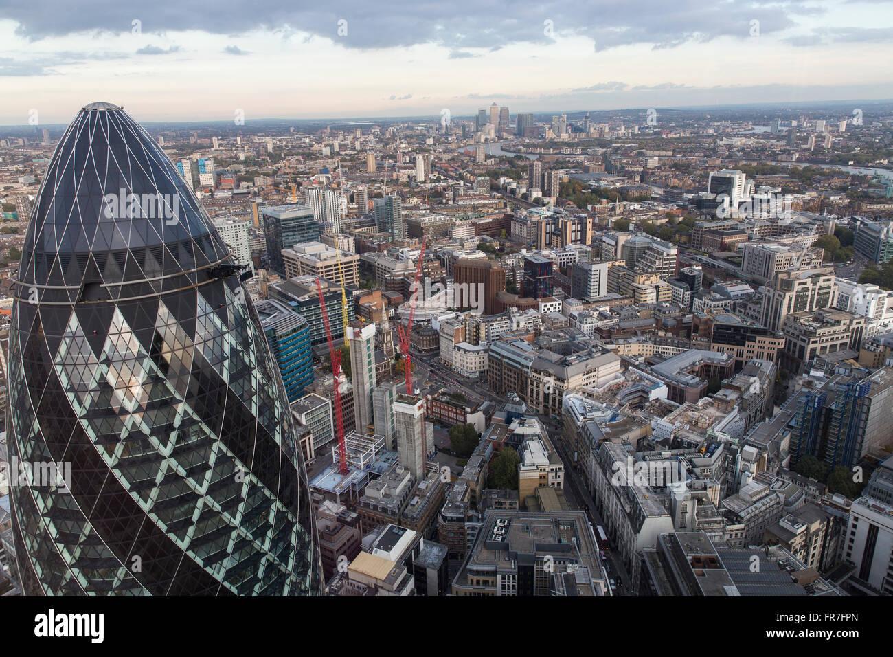 Der Londoner skyline Stockbild