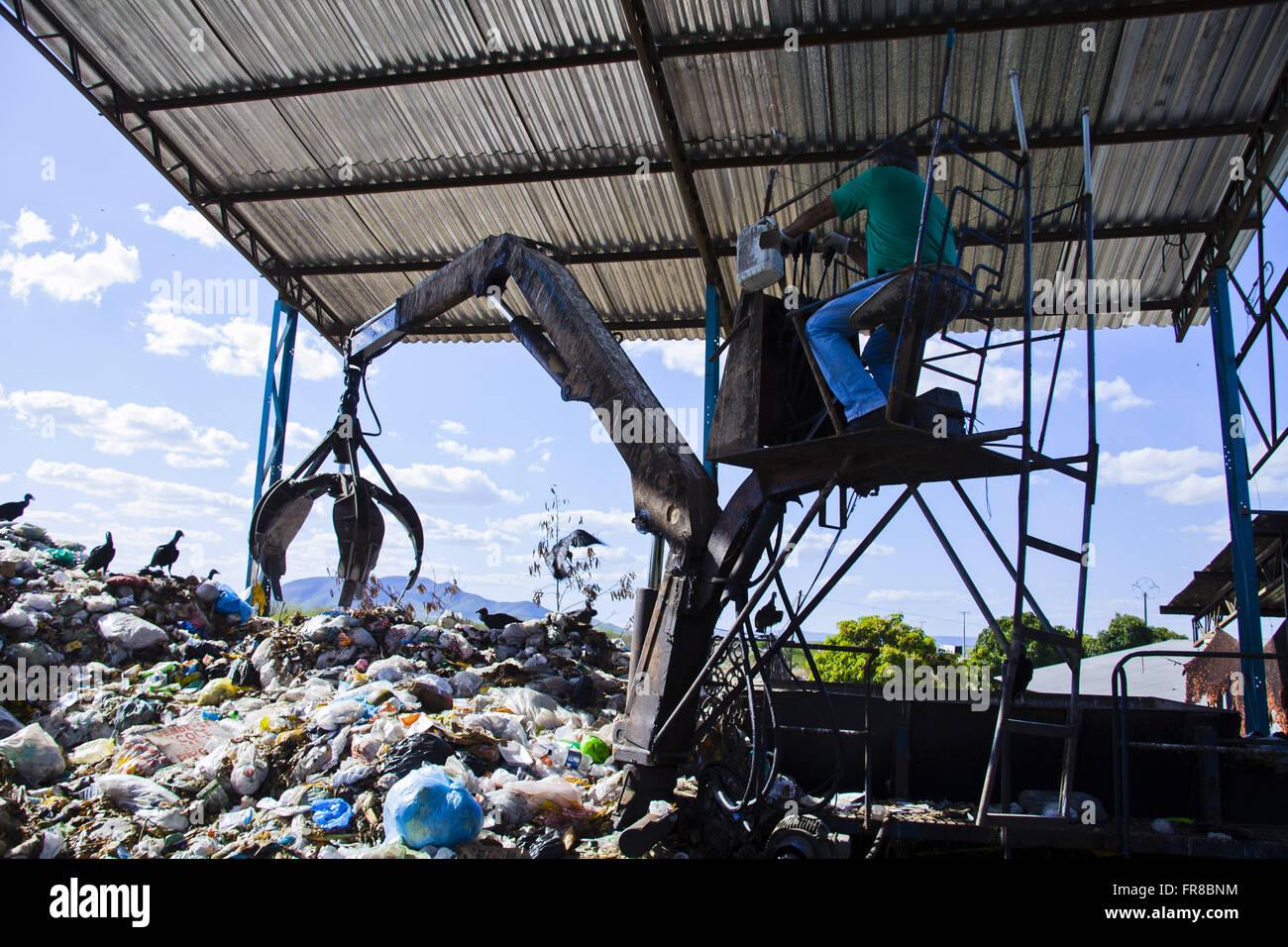 ARPA - Alternative Recycling Paulo Afonso Stockbild