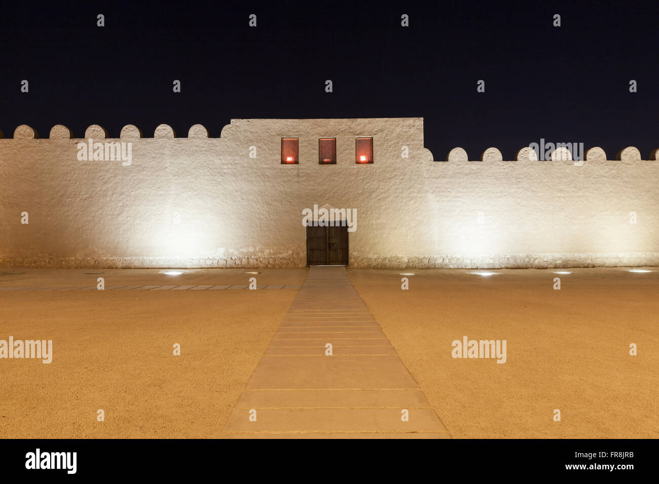 Bahrain Nacht Mädchen