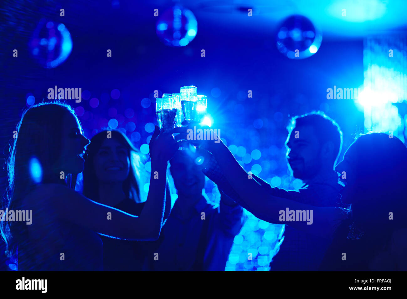Cheers Stockbild