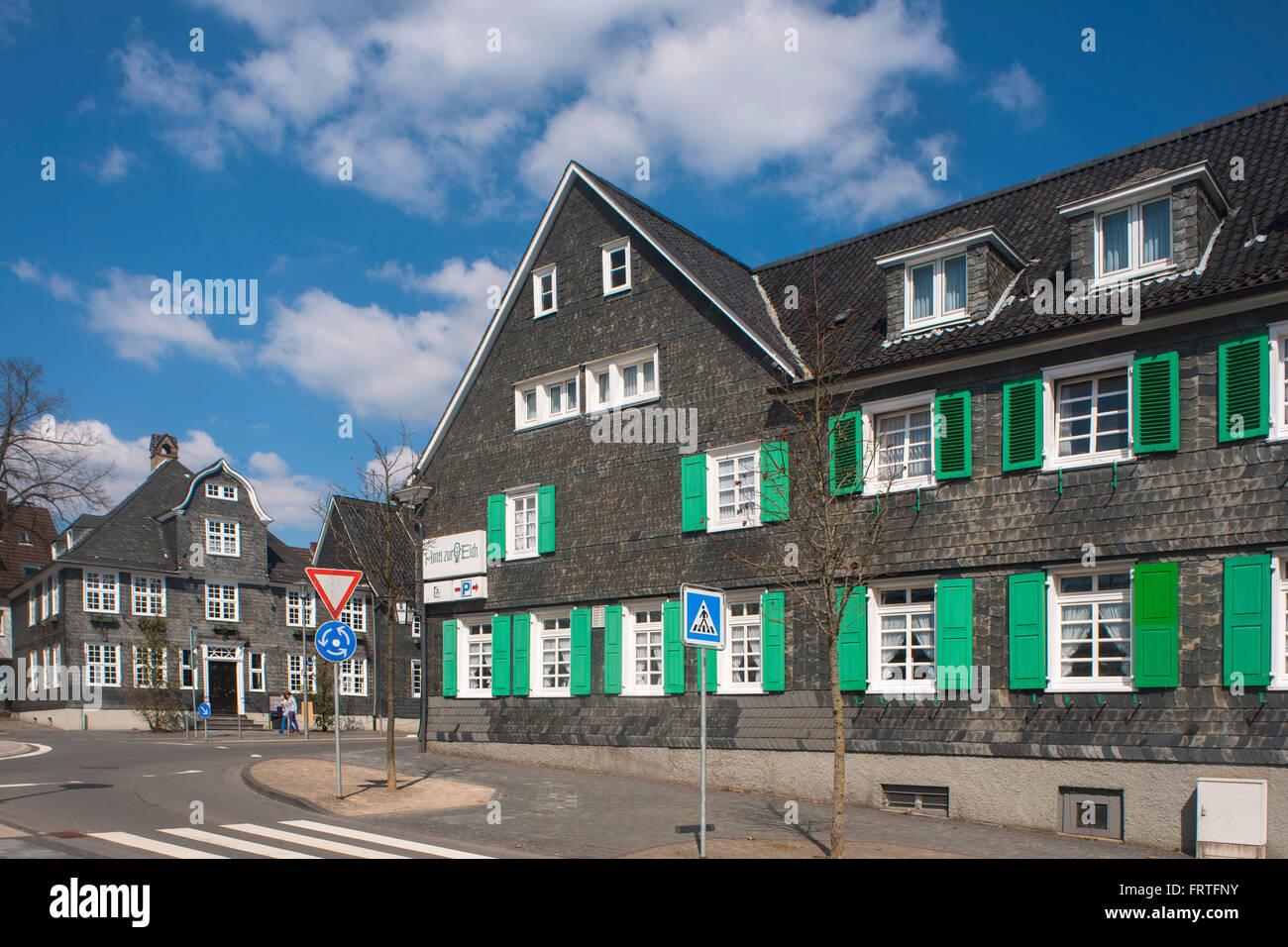 Wermelskirchen-Eich, Hotel Zur Eich (Rechts), Wermelskirchen ...