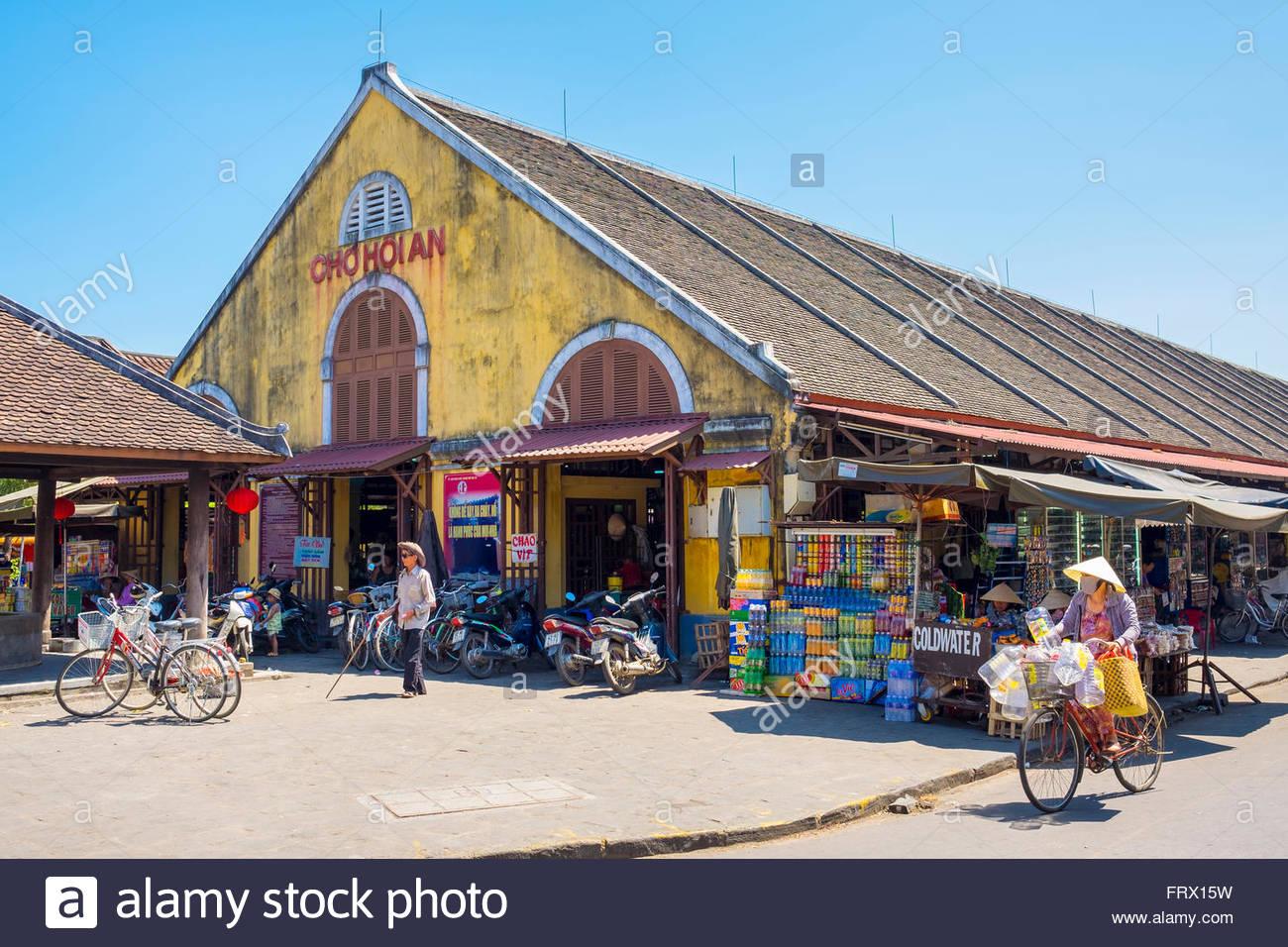 Hoi an einem zentralen Markt (Cho Hoi ein), Hoi an, Provinz Quang Nam, Vietnam Stockbild