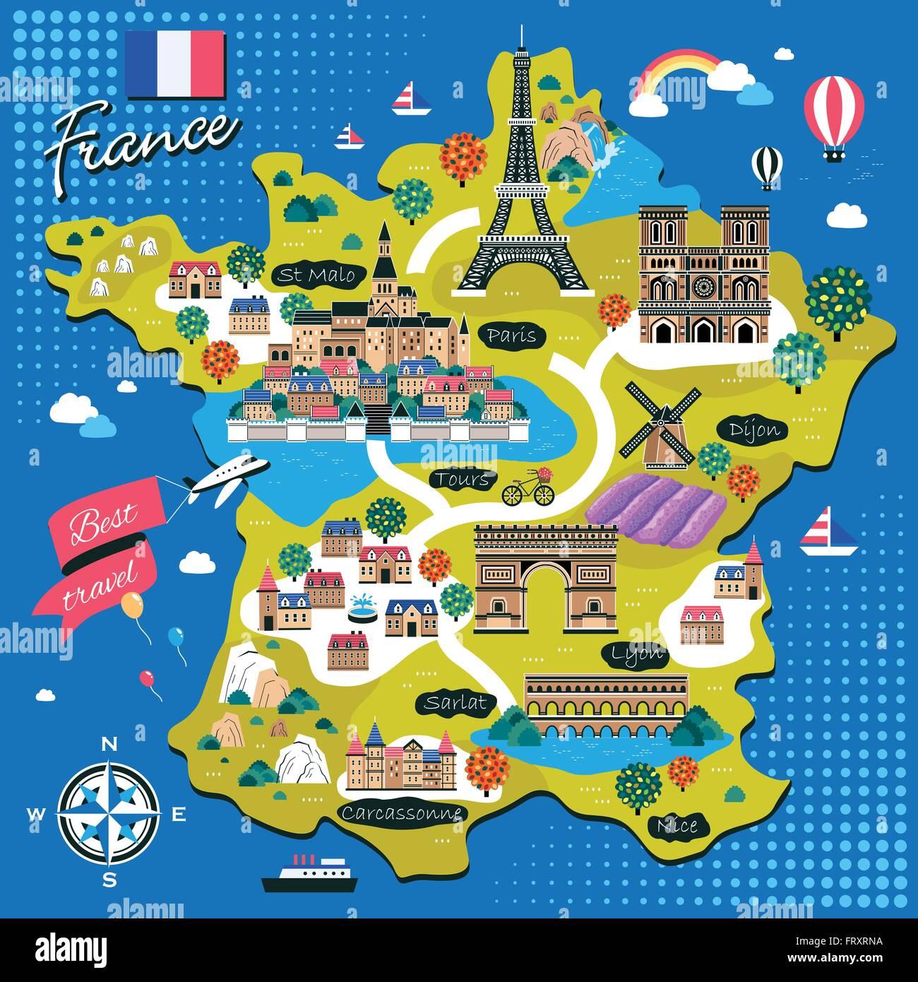 Les Belle Ville Ttouristique De France