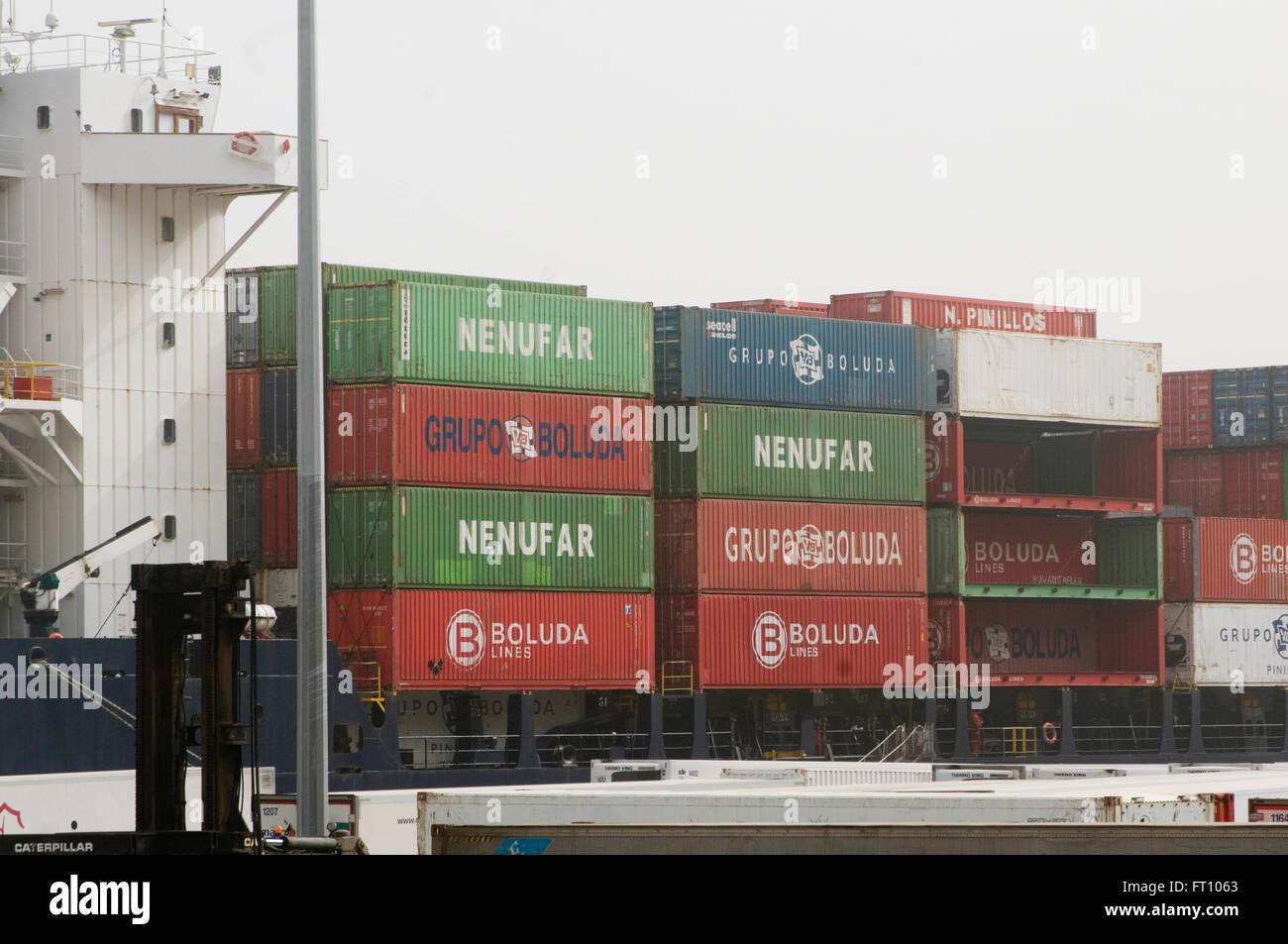 Import stockfotos import bilder alamy for Tarif container