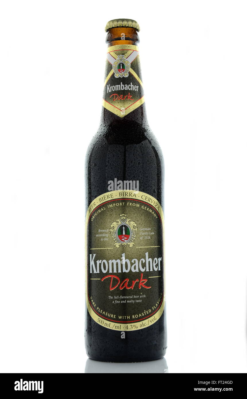 Krombacher Brewery Stockfotos & Krombacher Brewery Bilder - Alamy
