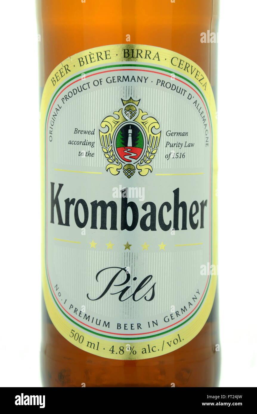 Krombacher Beer Stockfotos & Krombacher Beer Bilder - Seite 2 - Alamy
