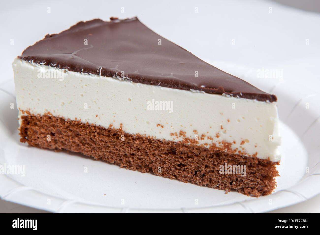 verschiedene Arten von Eis und dessert Stockbild