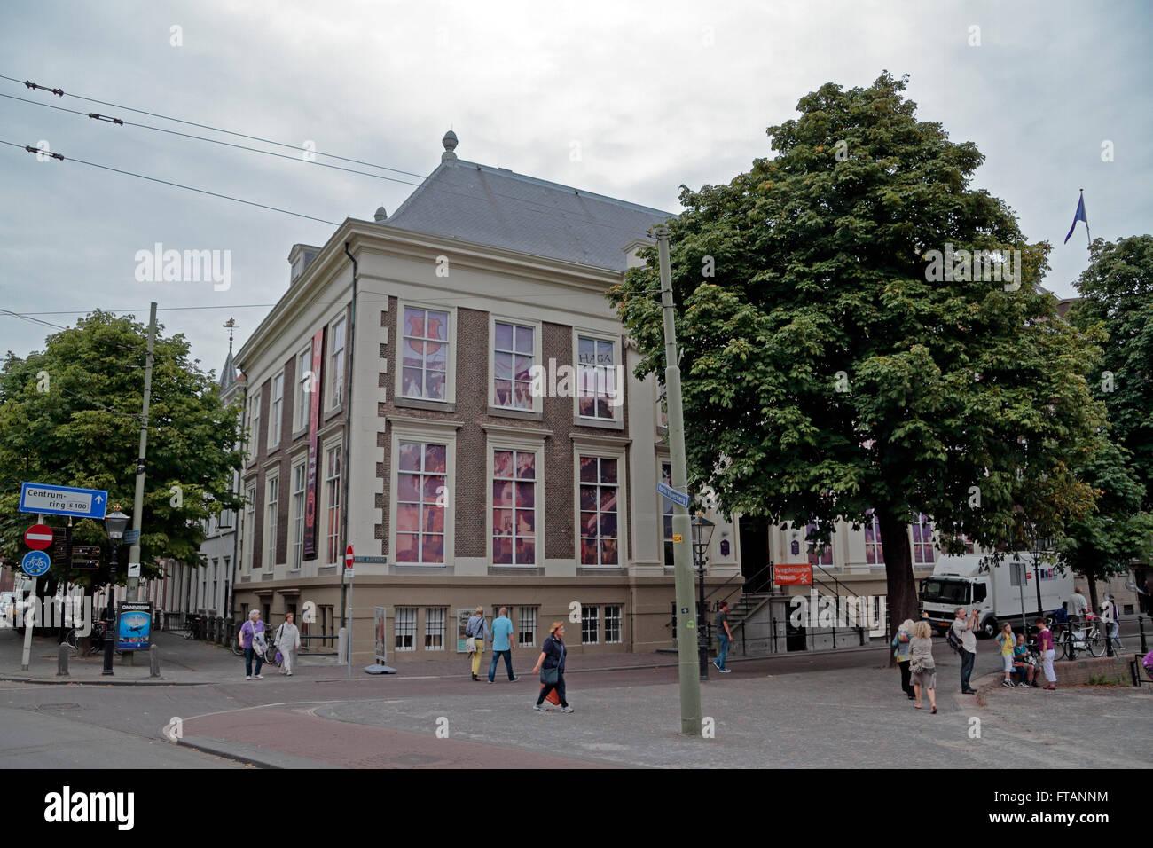Das Haags Historisch Museum (historisches Museum in den Haag) in den Haag, Niederlande. Stockbild