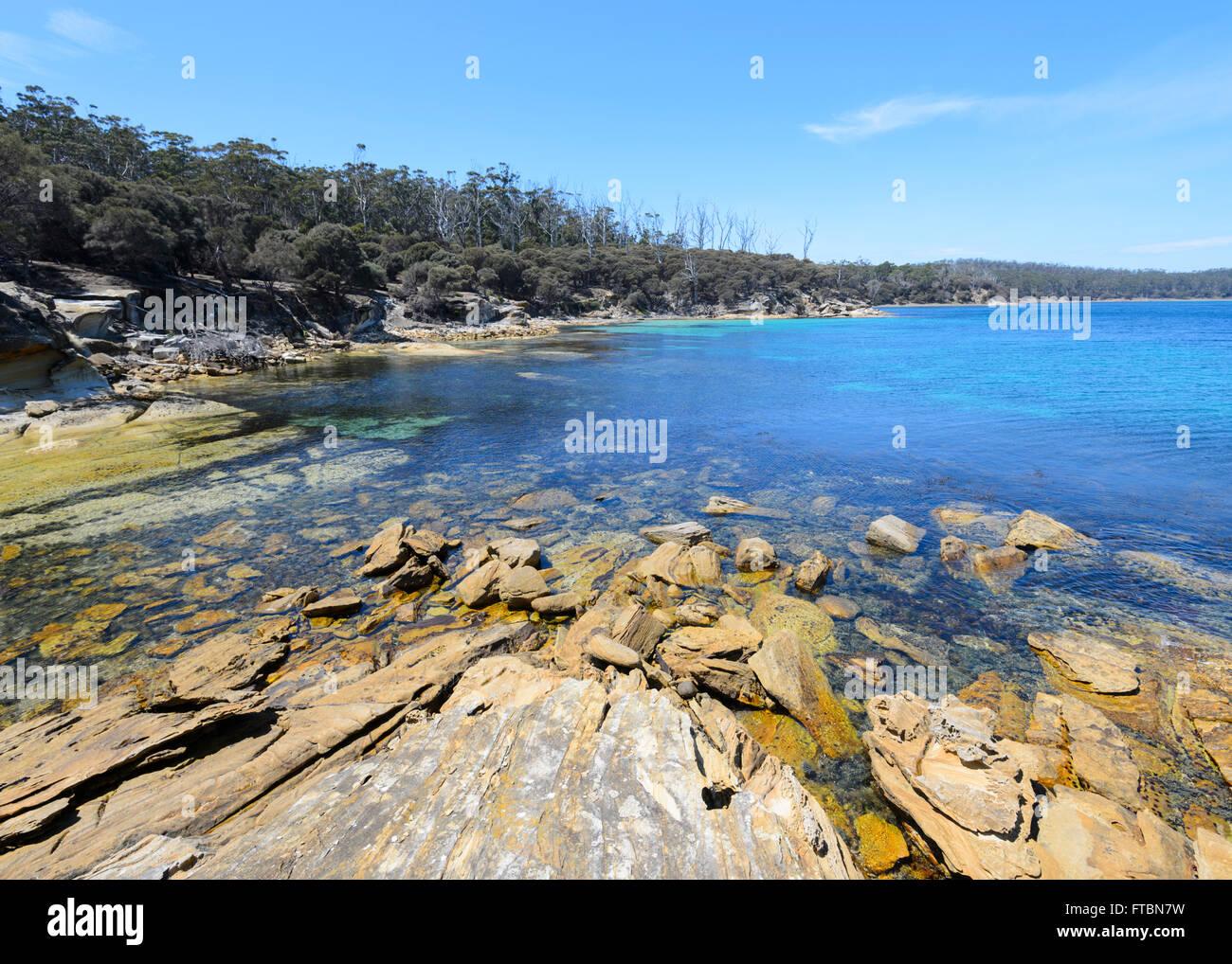 Maria Island National Park, Tasmanien, Australien Stockbild