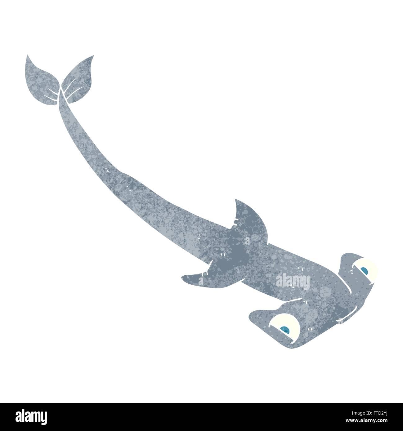 Cartoon Hammerhead Shark Stockfotos & Cartoon Hammerhead Shark ...