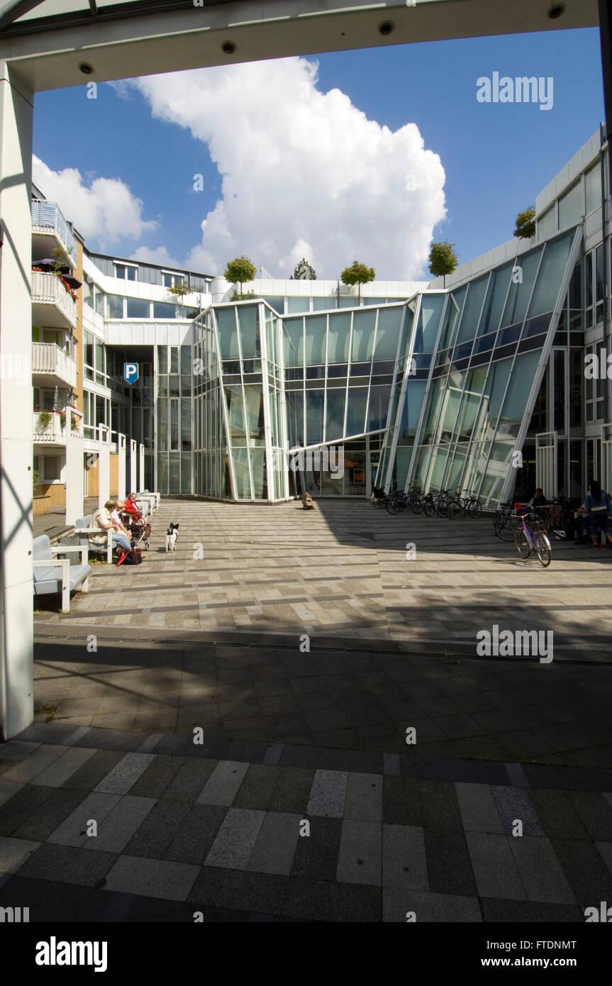 Architekten In Neuss deutschland nrw neuss moderne architektur am neumarkt stockfoto