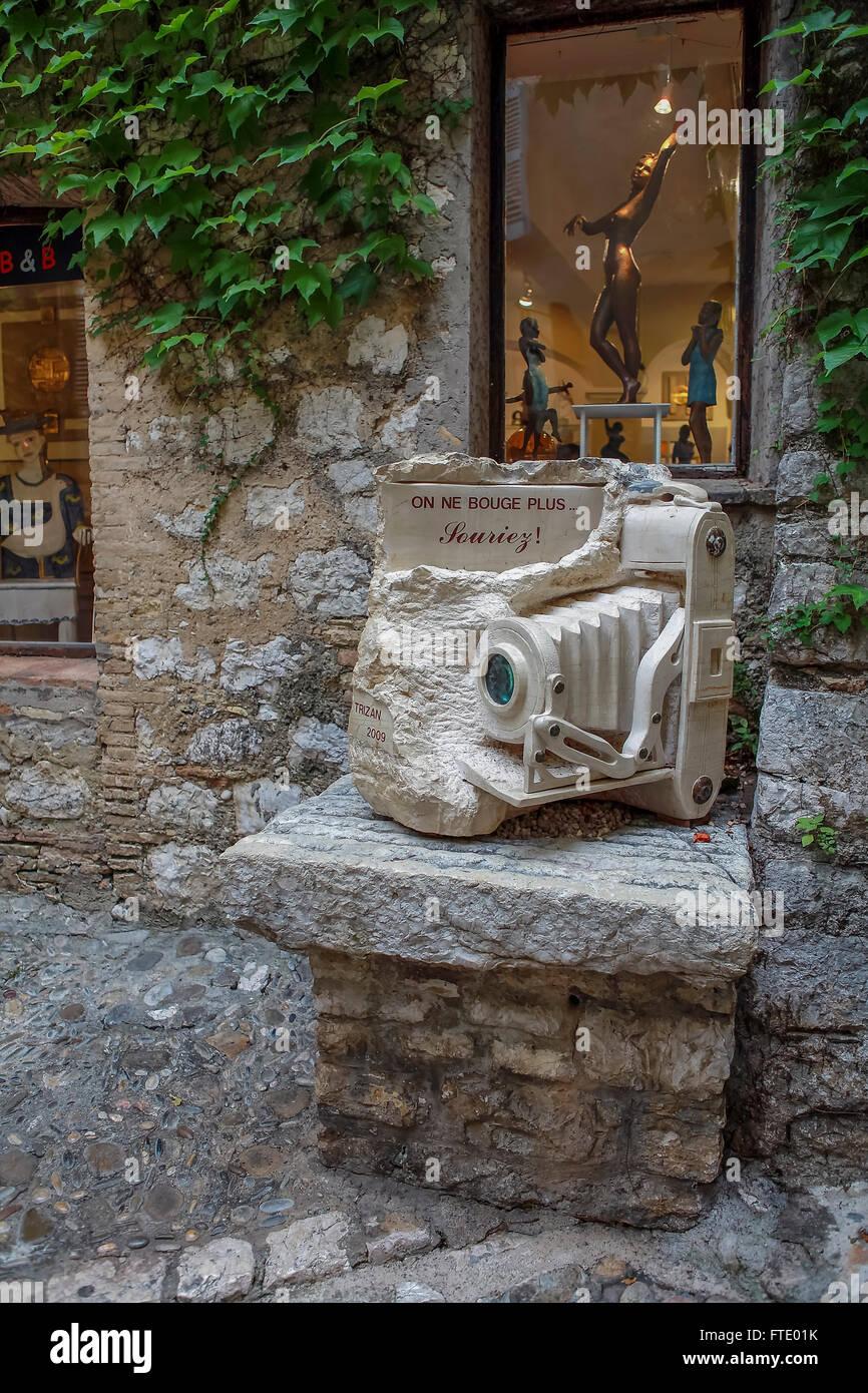 Saint-Paul de Vence, Provence-Alpes-Cote d ' Azur, Südfrankreich, Frankreich, Europa Stockbild