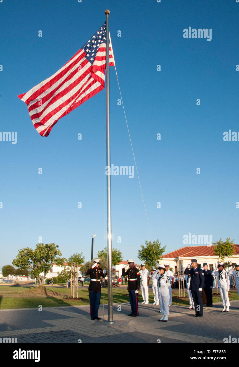 Flag Of U S Admiral Stockfotos & Flag Of U S Admiral Bilder - Alamy