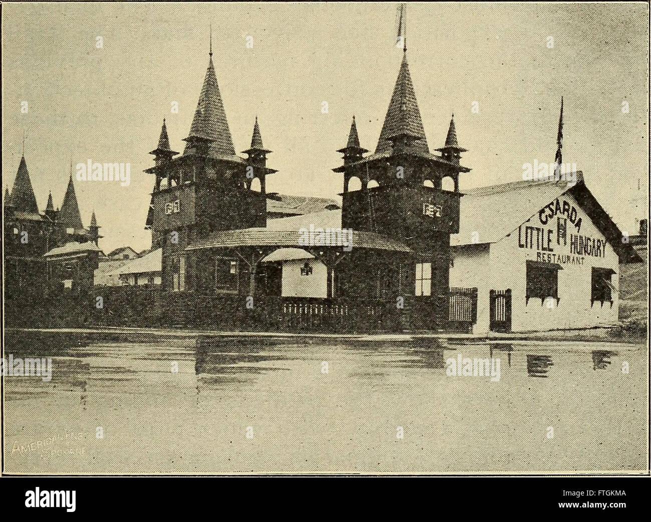 Offizieller Guide für die Lewis und Clark centennial Exposition, Portland, Oregon, 1 Juni, 15. Oktober 1905 (1905) Stockfoto