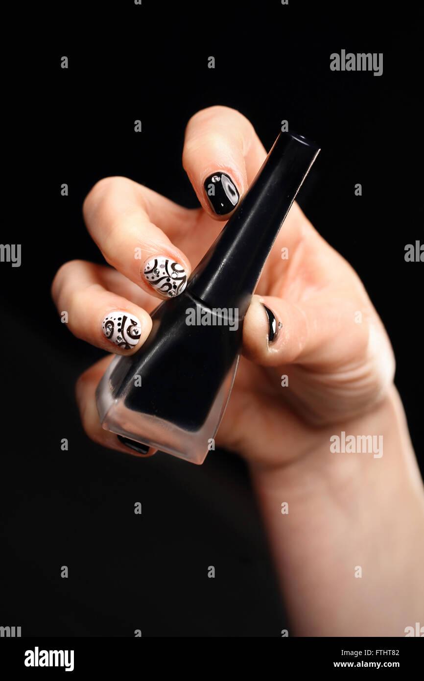 stempel fr dressing manikre manikre nail art ornamente lamellen fordressing lamellen nagel muster gemusterte manikre - Muster Fur Nagel