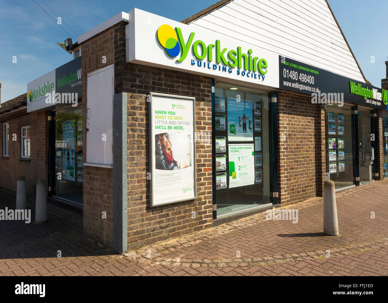 Yorkshire Building Society branch Stockbild