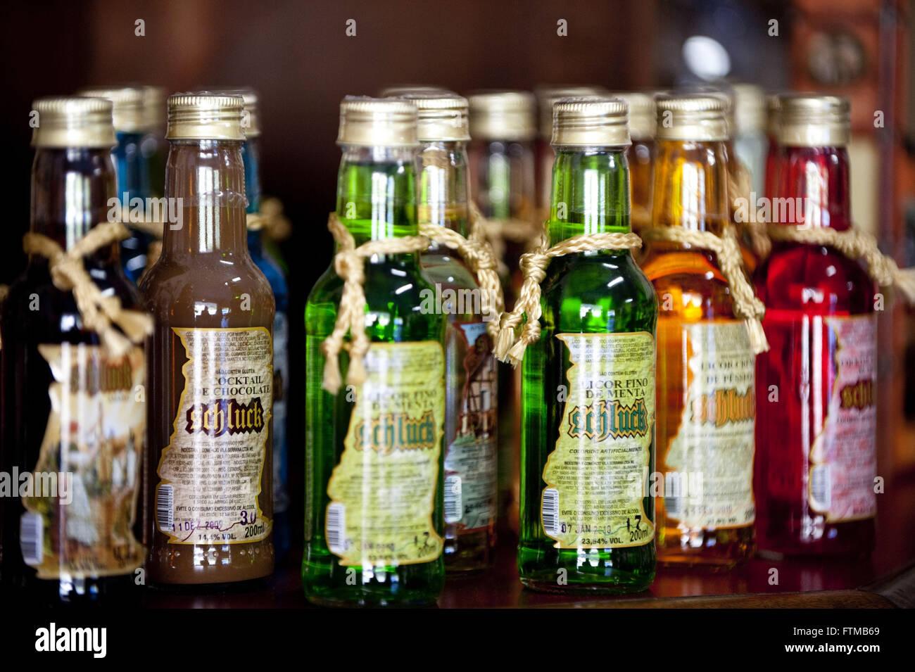 Getränke in der Regel deutsche in Blumenau Stockbild