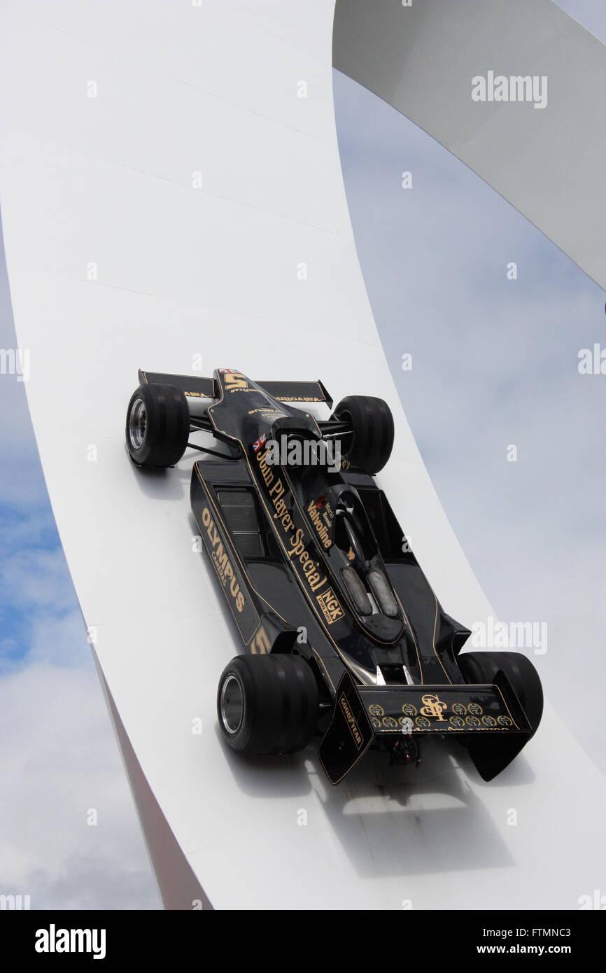 2012 Goodwood Festival of Speed Skulptur Stockbild