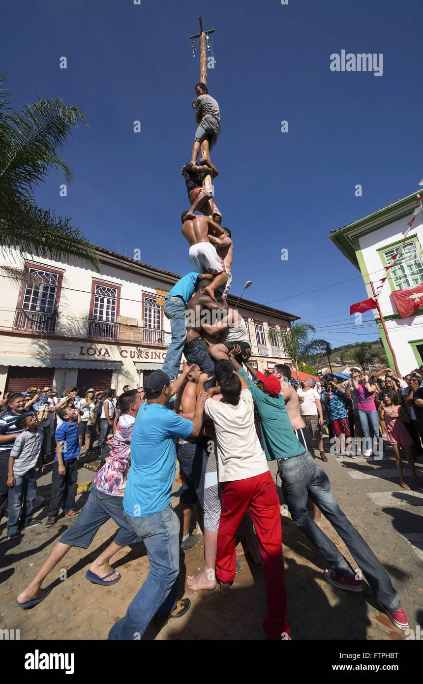 Pau-de-Fat das Fest des Heiligen Geistes Stockbild