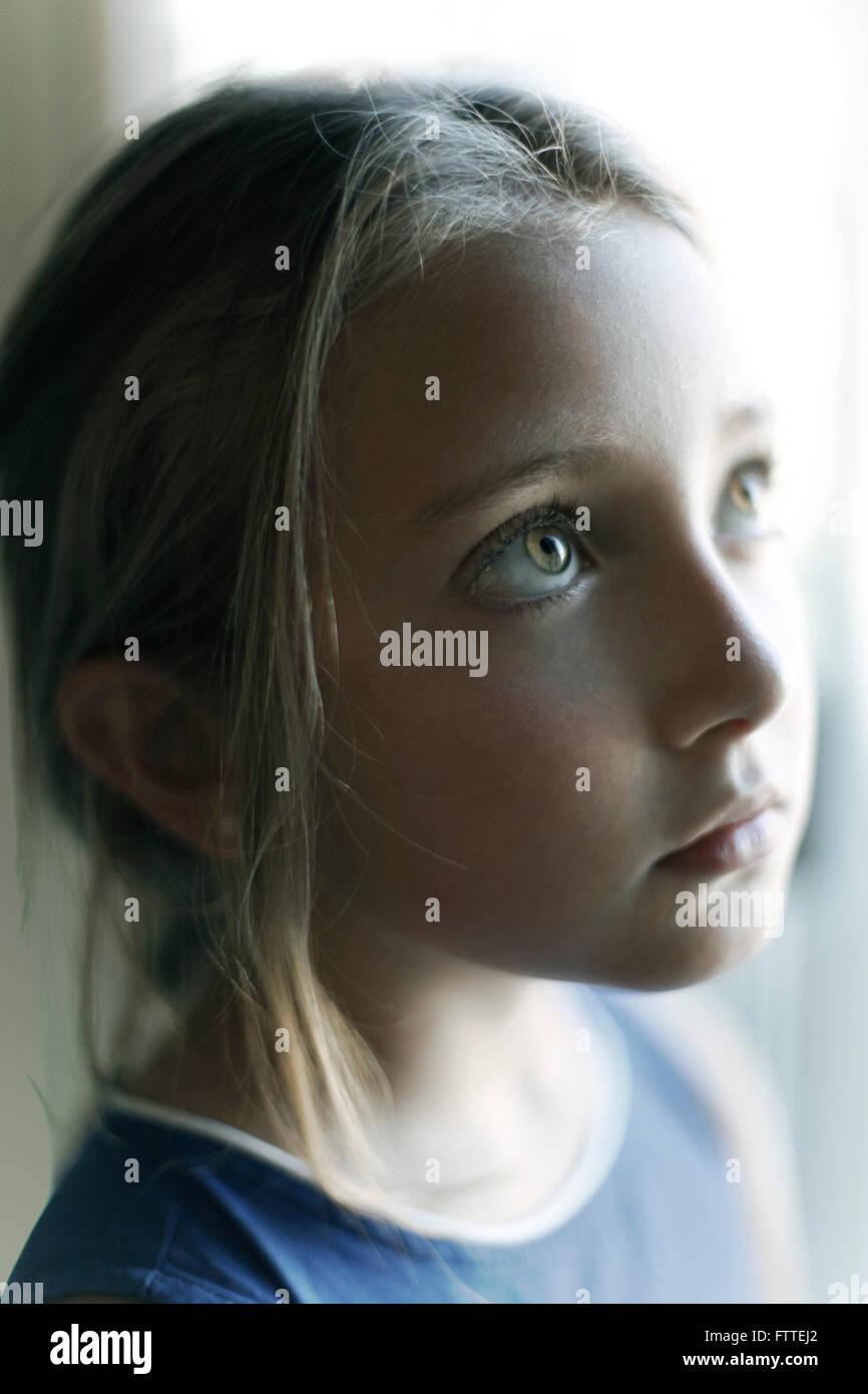Junges Mädchen Porträt Stockfoto