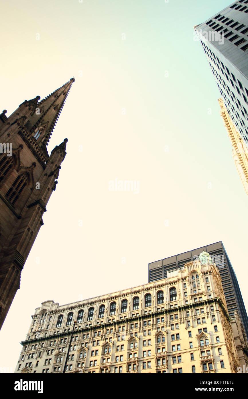 New York, Innenstadt, Bankenviertel Stockfoto