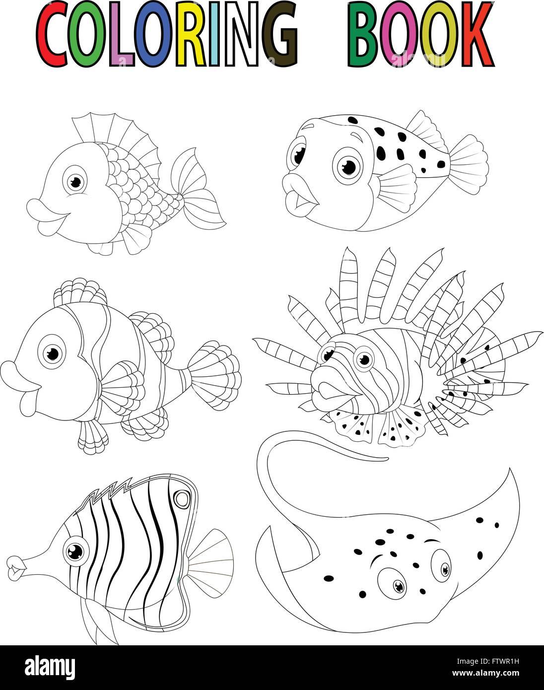 Wunderbar Sterne Fisch Färbung Seite Fotos - Malvorlagen Von Tieren ...