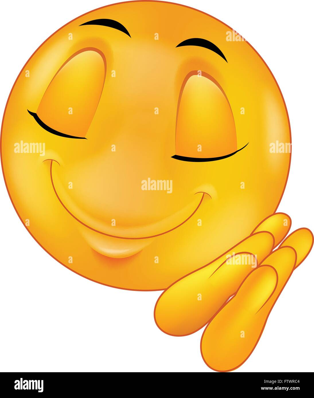 Schlaf Smiley Emoticon Vektor Abbildung - Bild: 101370756