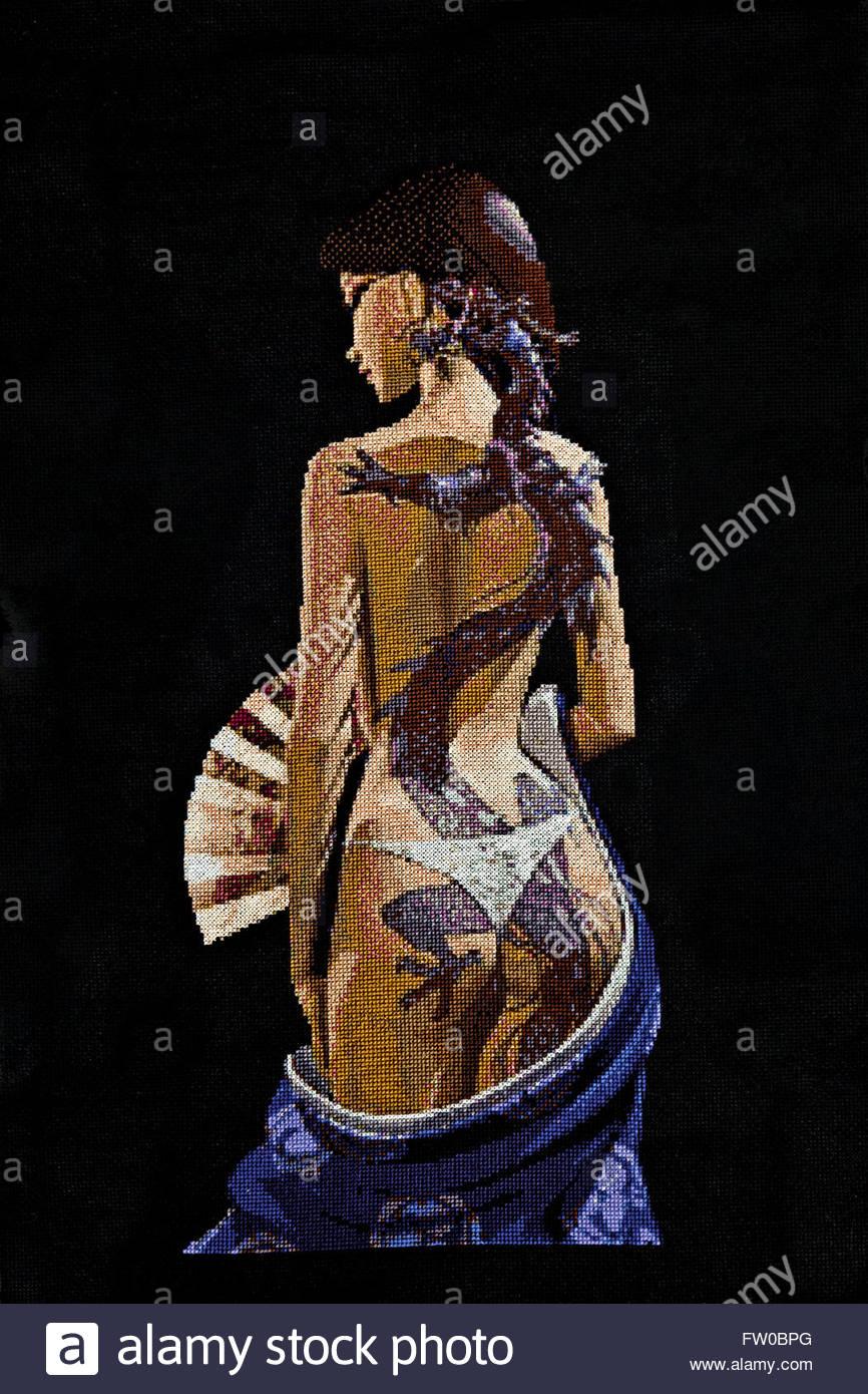 schwarze mädchen nackt kunst
