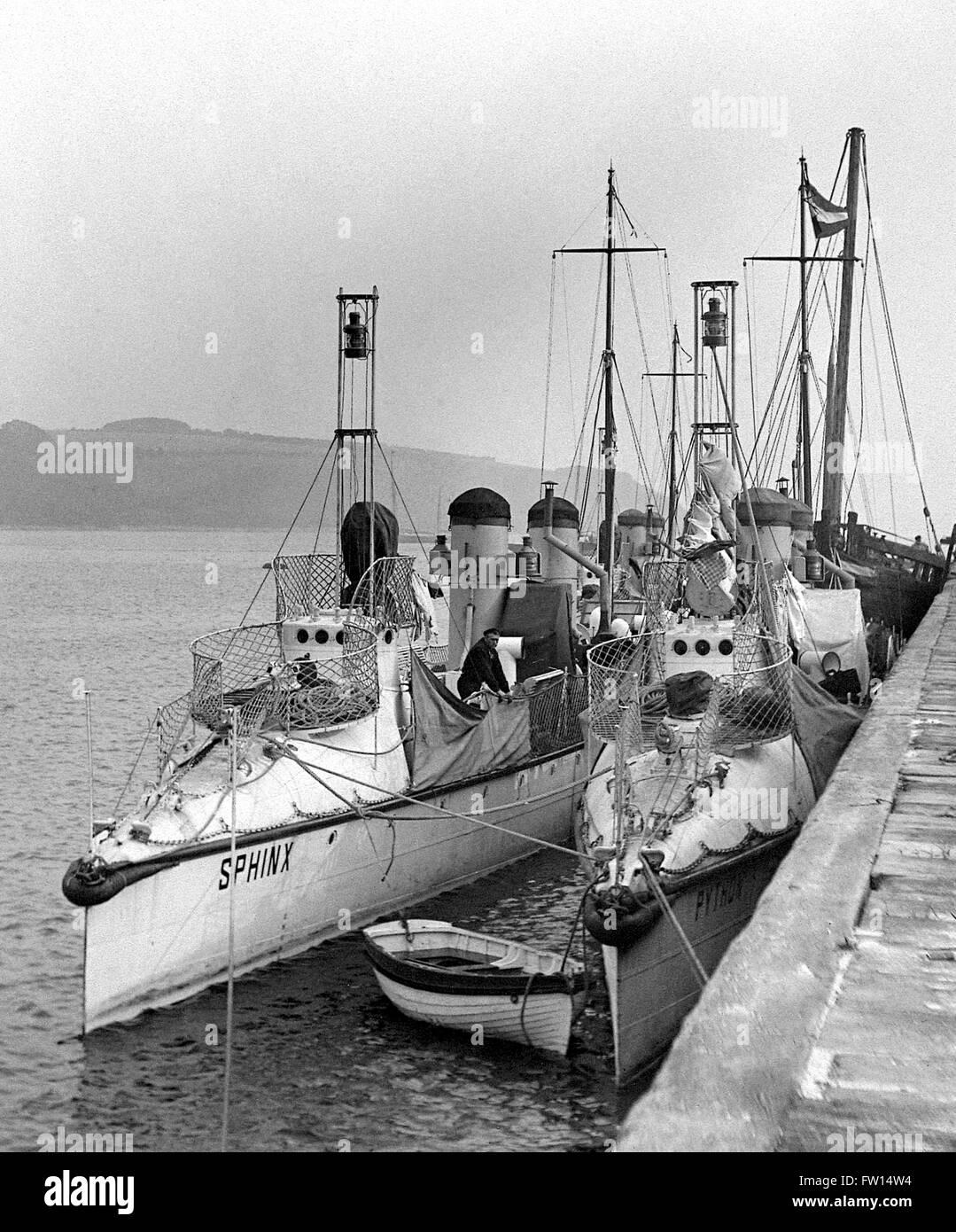 ** paar- Schiffe Der Königlichen Marine
