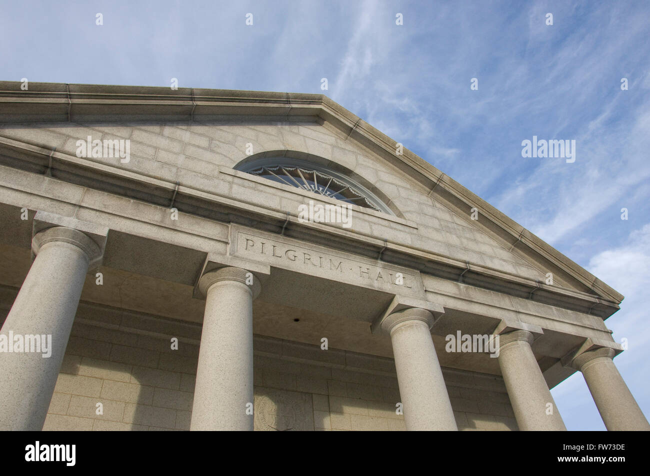 Pilgrim Hall, Plymouth, Massachusetts Stockfoto
