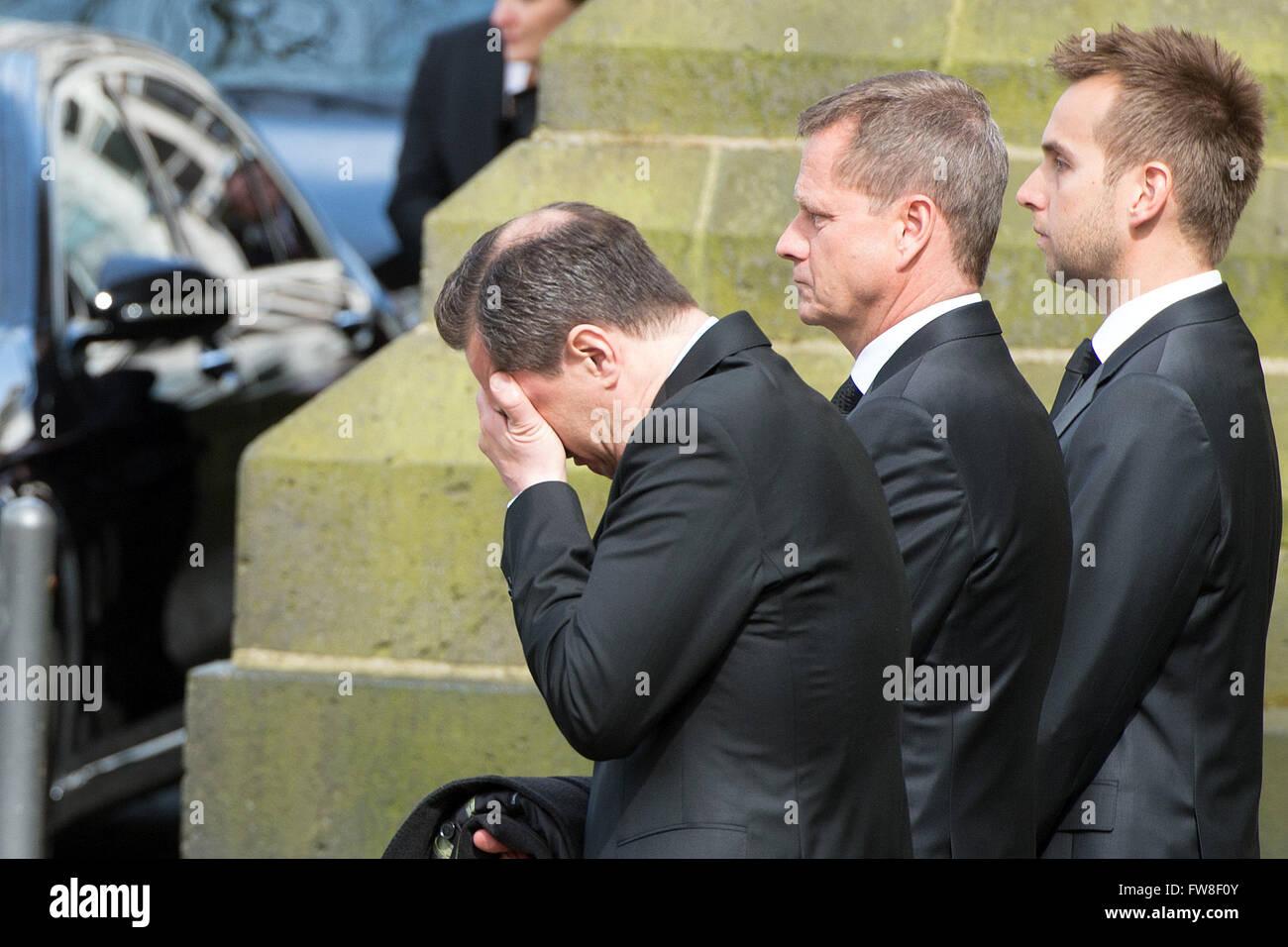 Köln Deutschland 2 April 2016 Westerwelles Ehemann Michael Mronz