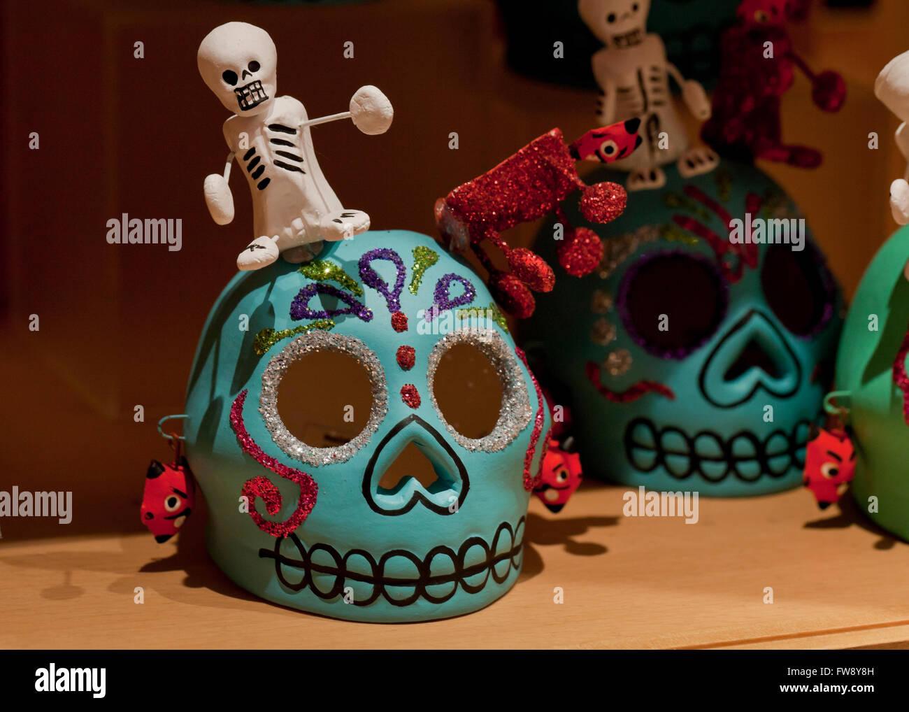 Dia de Los Muertos (Tag der Toten) Zahlen Stockbild