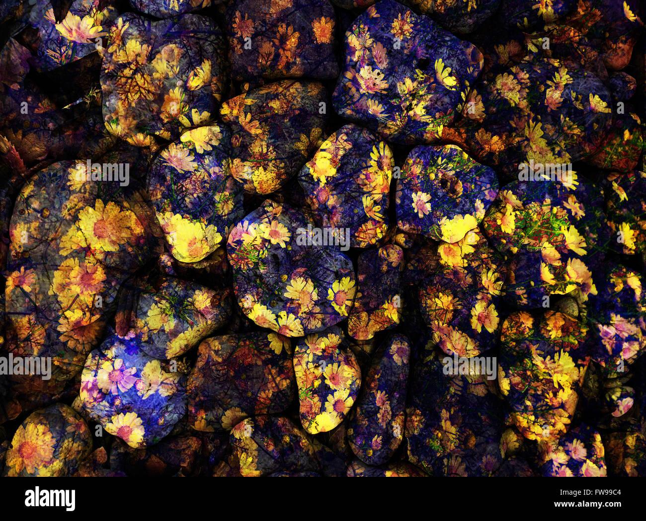 Moderne abstrakte grafische Gestaltung digitaler Kunst Konzept kreativ Stockbild