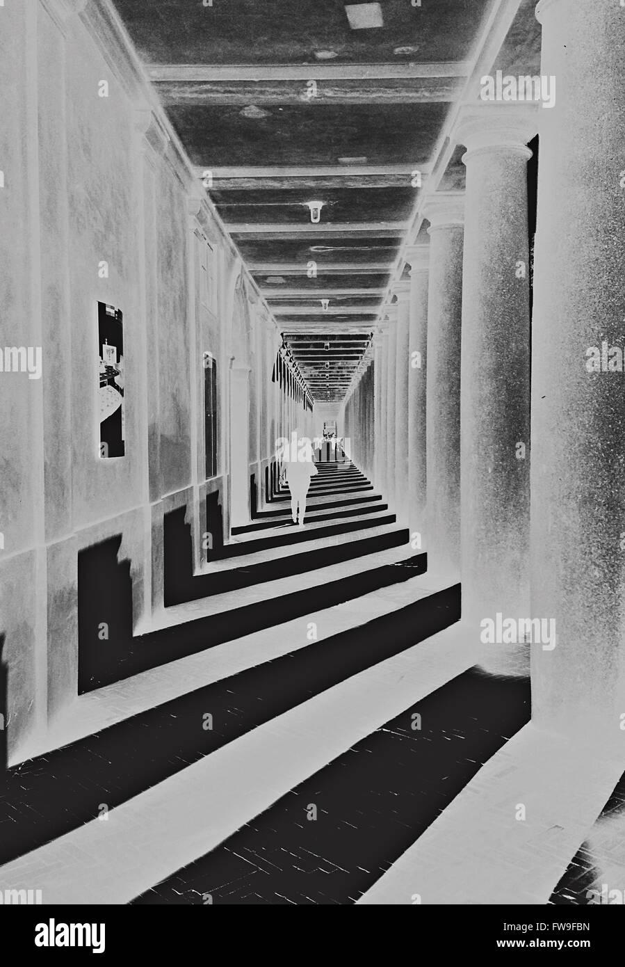 Moderne abstrakte Grafik-Design Digitalkunst Kreativkonzept Stockbild