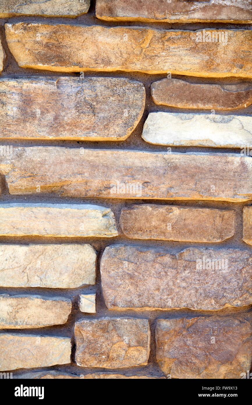 Stein Naturstein Furnier Wand Und Gebäude Finish Design Und Muster  Nahaufnahme Für Bauindustrie Und Produzierendes Gewerbe