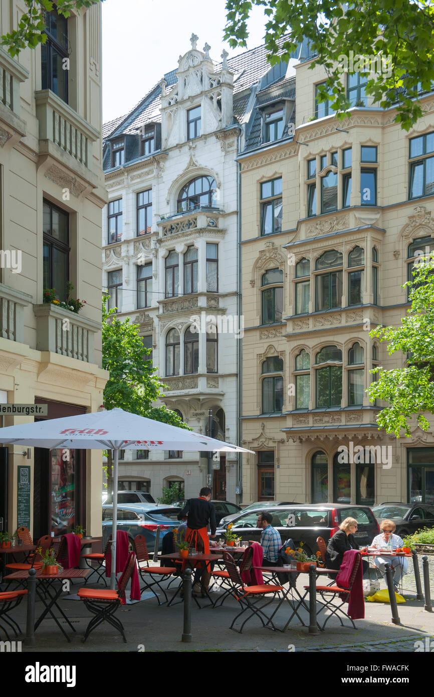 Köln, Neustadt-Nord, Weissenburgstrasse / Lupusstrasse, Restaurant ...
