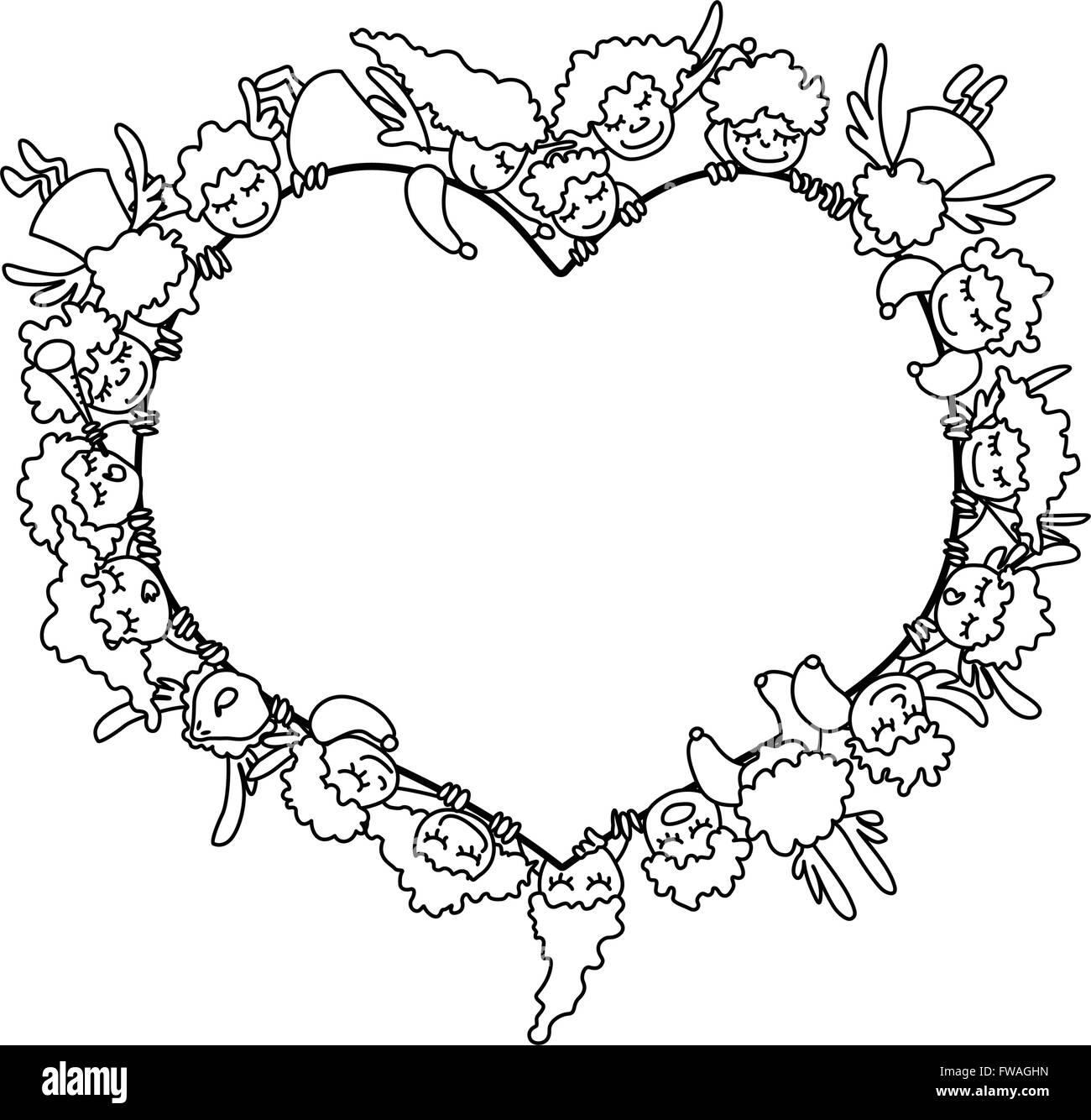 Erfreut Valentinstag Herzen Malvorlagen Galerie - Malvorlagen Ideen ...