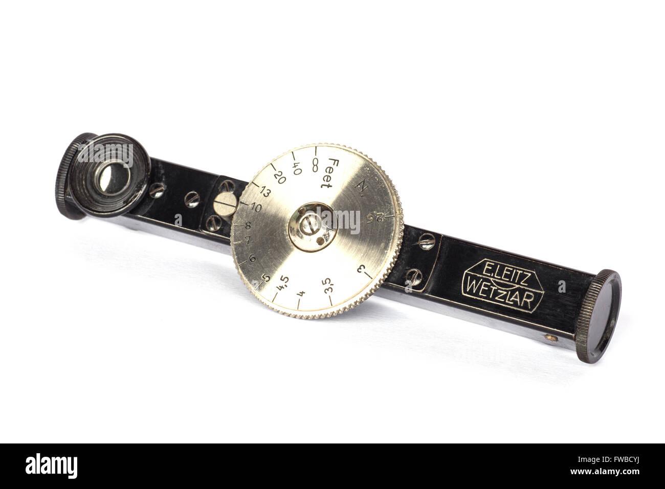 Leica Entfernungsmesser Fokos : 1930er jahre leica kamera entfernungsmesser stockfoto bild