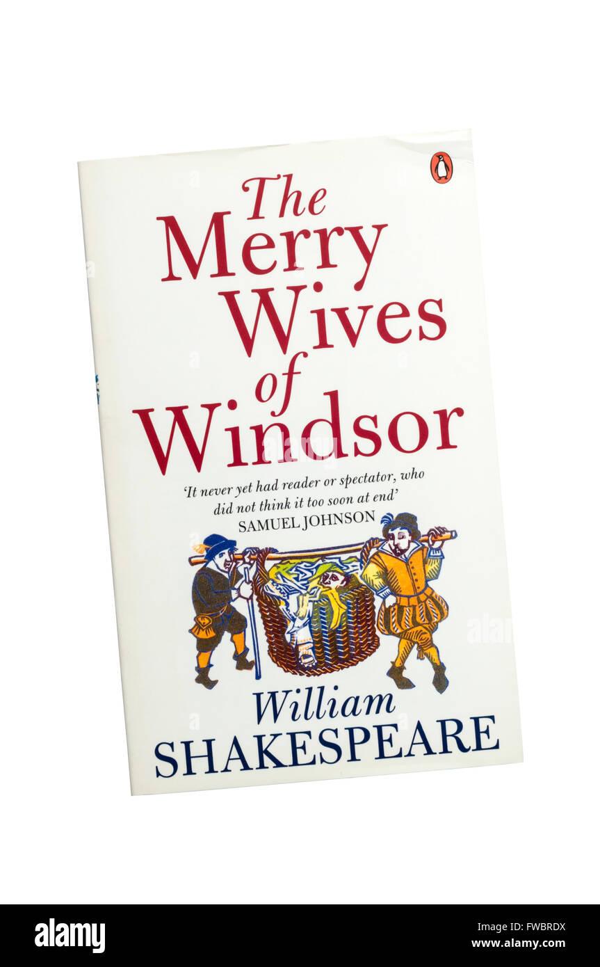 Die Penguin-Ausgabe von die lustigen Weiber von Windsor von William Shakespeare. Stockbild