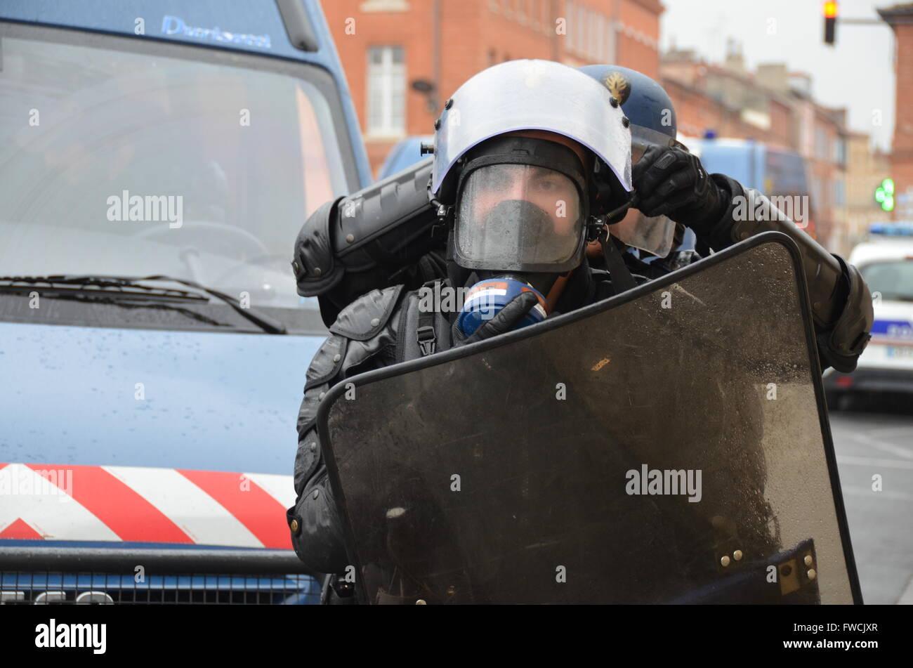 Polizei Auf Französisch