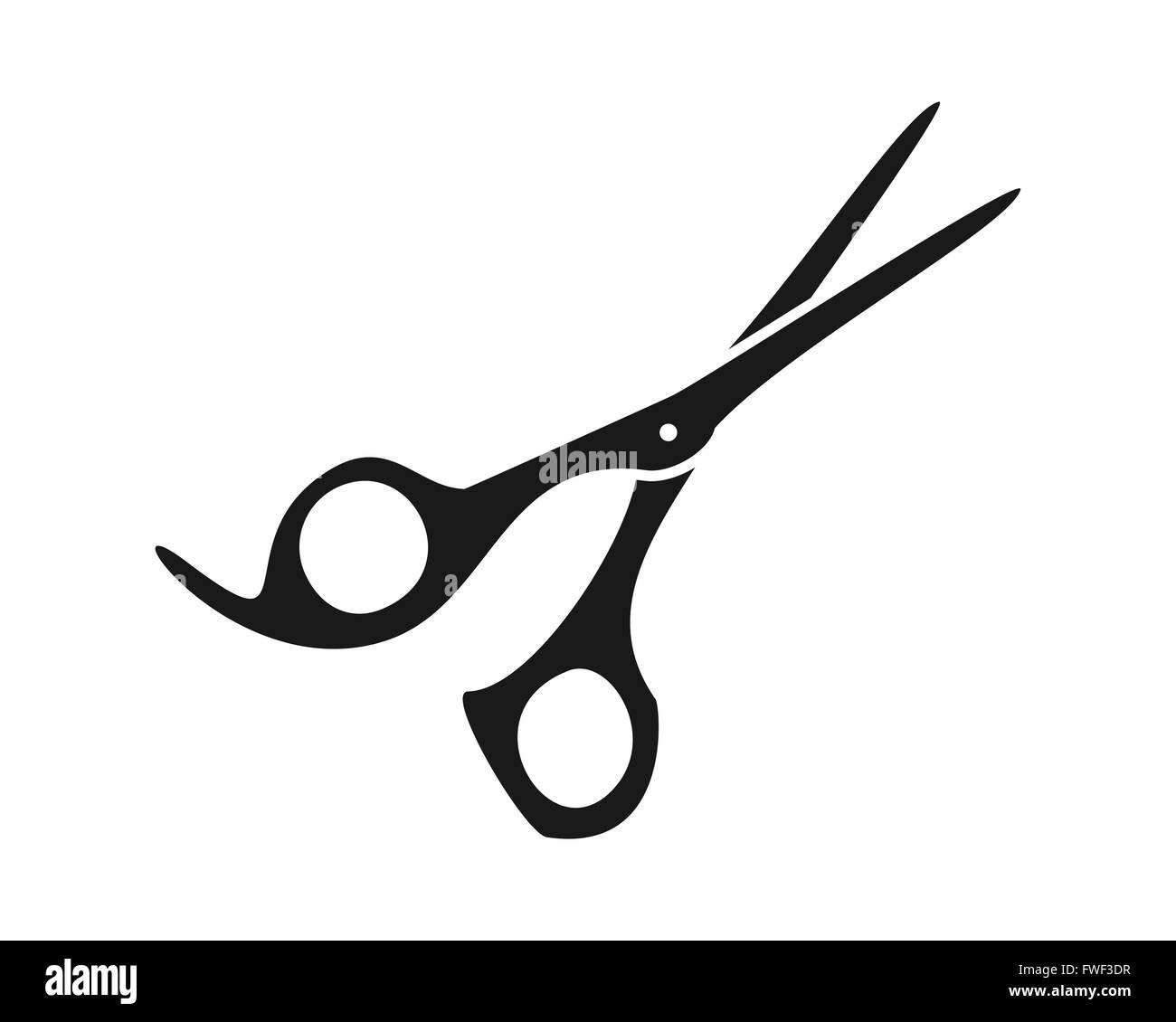 Einfache Friseur Schere Vektor Abbildung Bild 101750259 Alamy